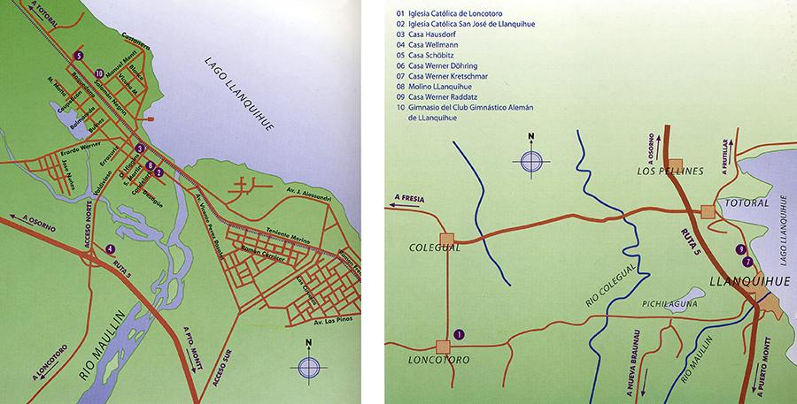 PLANO DE LLANQUIHUE