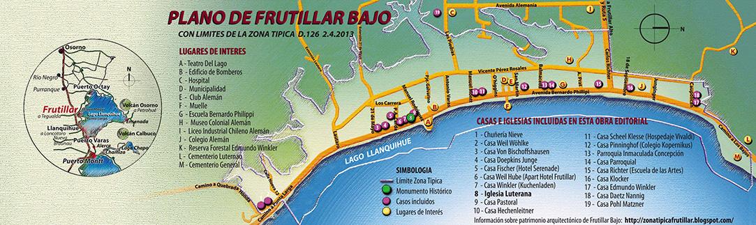 PLANO DE FRUTILLAR BAJO